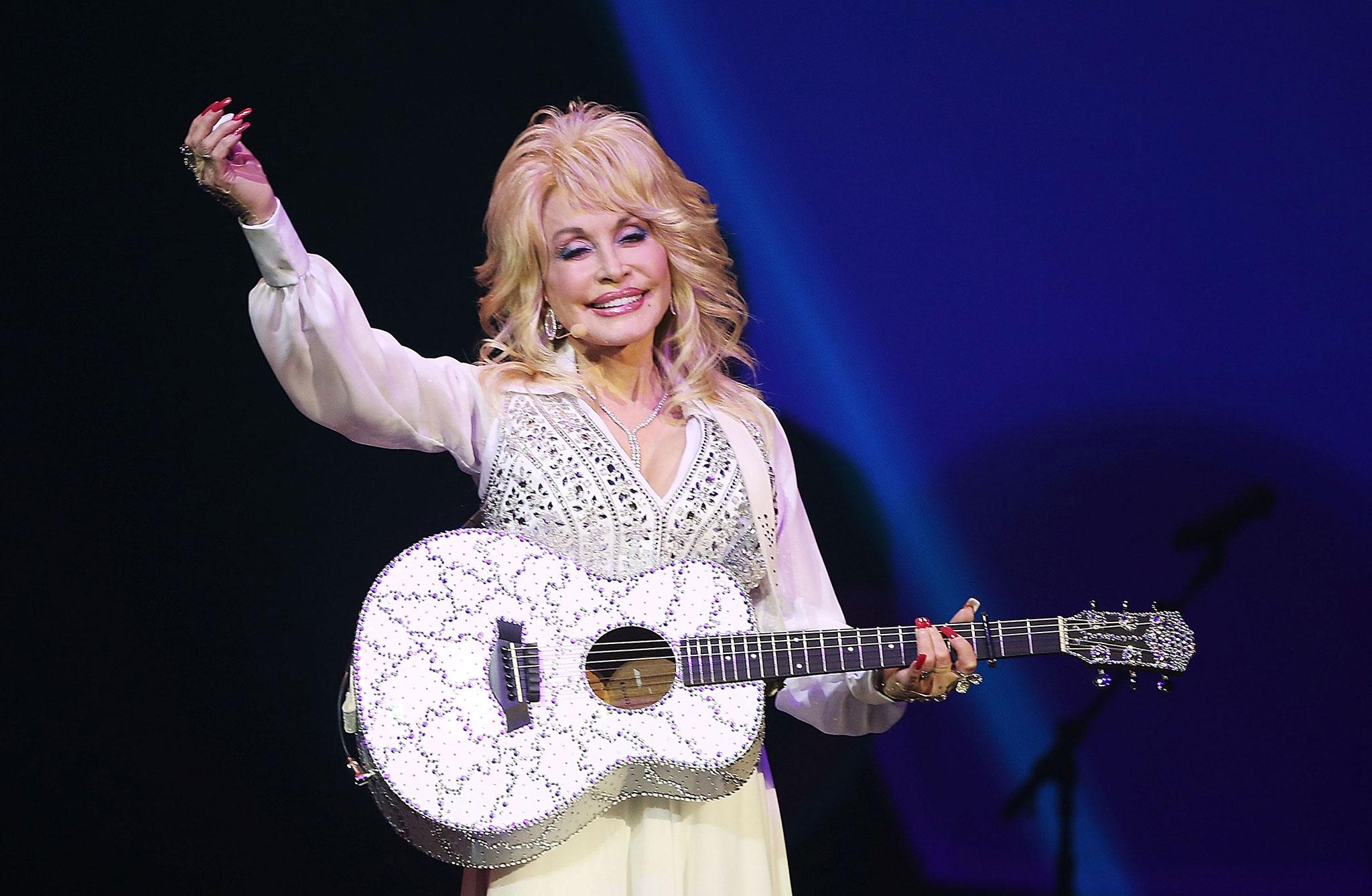 Wenn sich Dolly Parton im Kreis dreht